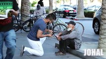 Are Homeless More Generous? Giving Back to the Poor Feeding the Homeless SMILE :)