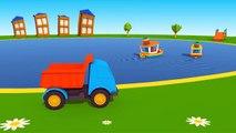 Meraklı kamyon Leo ve küçük kardeşi - Eğitici çizgi film - Türkçe izle