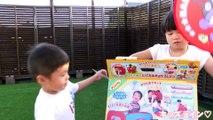 アンパンマン とっても大きなSLマン おうち おもちゃ Anpanman  Train Tent House Toy-HD