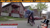 Increíbles Acrobacias en Bicicletas / Vídeos De Acrobacias En Bicicletas Recopilación 2015