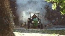 Une publicité totalement WTF avec un tracteur qui drift