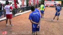 Demi-finales doubles U23 et U25F, Challenge International Denis Ravera, Sport Boules, Monaco 2015