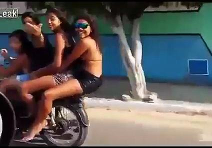 motorcycles Falls
