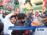 Clash between PTI, PML- N workers  at different polling stations