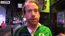 France-Irlande : Les supporters irlandais heureux de la victoire