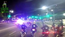 POLICE CHASE Motorcycle Messing With COPS Street Bike CRASH ACCIDENT Running From The COP