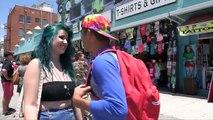How to Kiss ANY Stranger (Kissing Prank) Kissing Strangers Making Out with Girls Pranks 20
