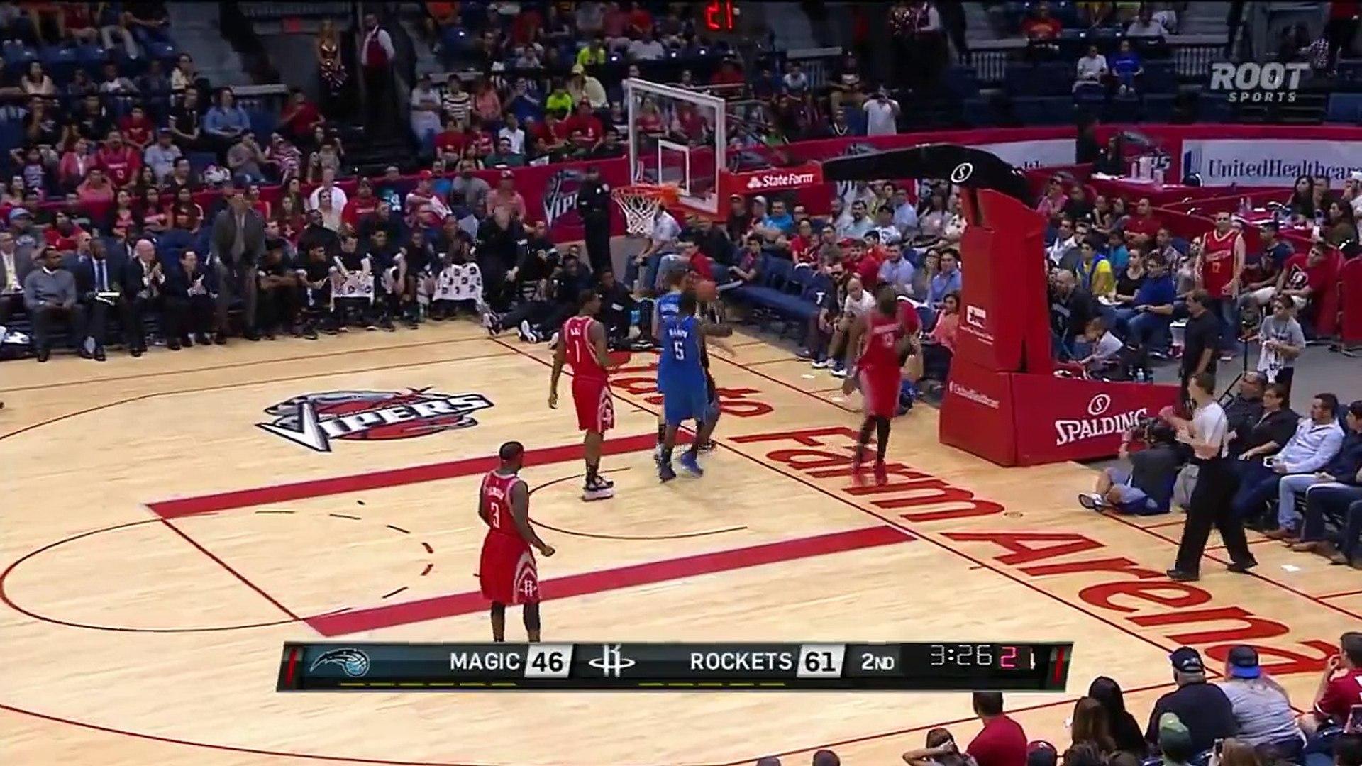 Orlando Magic vs Houston Rockets