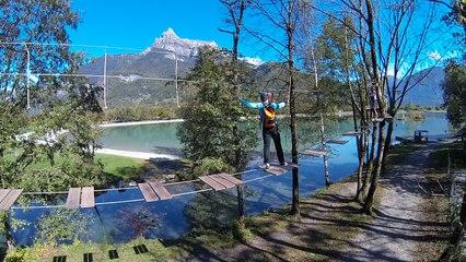 Passy Accro Lac accrobranches accro parc aventure Cilao Ben Tibbetts