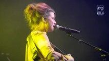 """Selah Sue chante """"Raggamuffin"""" à la soirée des 20 ans de RTL2, à l'Olympia"""