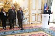 Cérémonie de prestation de serment de M. Jean-Jacques HYEST, nouveau membre du Conseil constitutionnel