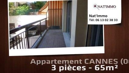 CANNES - CANNES : Lycée Carnot 3 P 65 m² - Garage