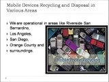Mobile Devices Recycling and Disposal