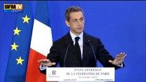 Sarkozy ironise sur les mauvais sondages pour Hollande