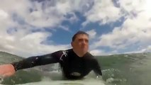 Baby Seal Surprises Surfers _ Surf Seal of Approval