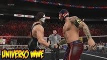 WWE 2K15 - Nuevas Rivalidades, Lucha de Leyendas en Raw