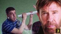Chuck Norris guckt keine Videos.Videos gucken Chuck Norris!