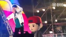 [FANCAM] 151010 EXO Chanyeol & Baekhyun (ChanBaek Moment) @ EXO Love Concert