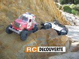 RC Crawler Scale Trial 4x4 sable rochers Plage Piriac Mesquer 44 Loire Atlantique Grand Ouest