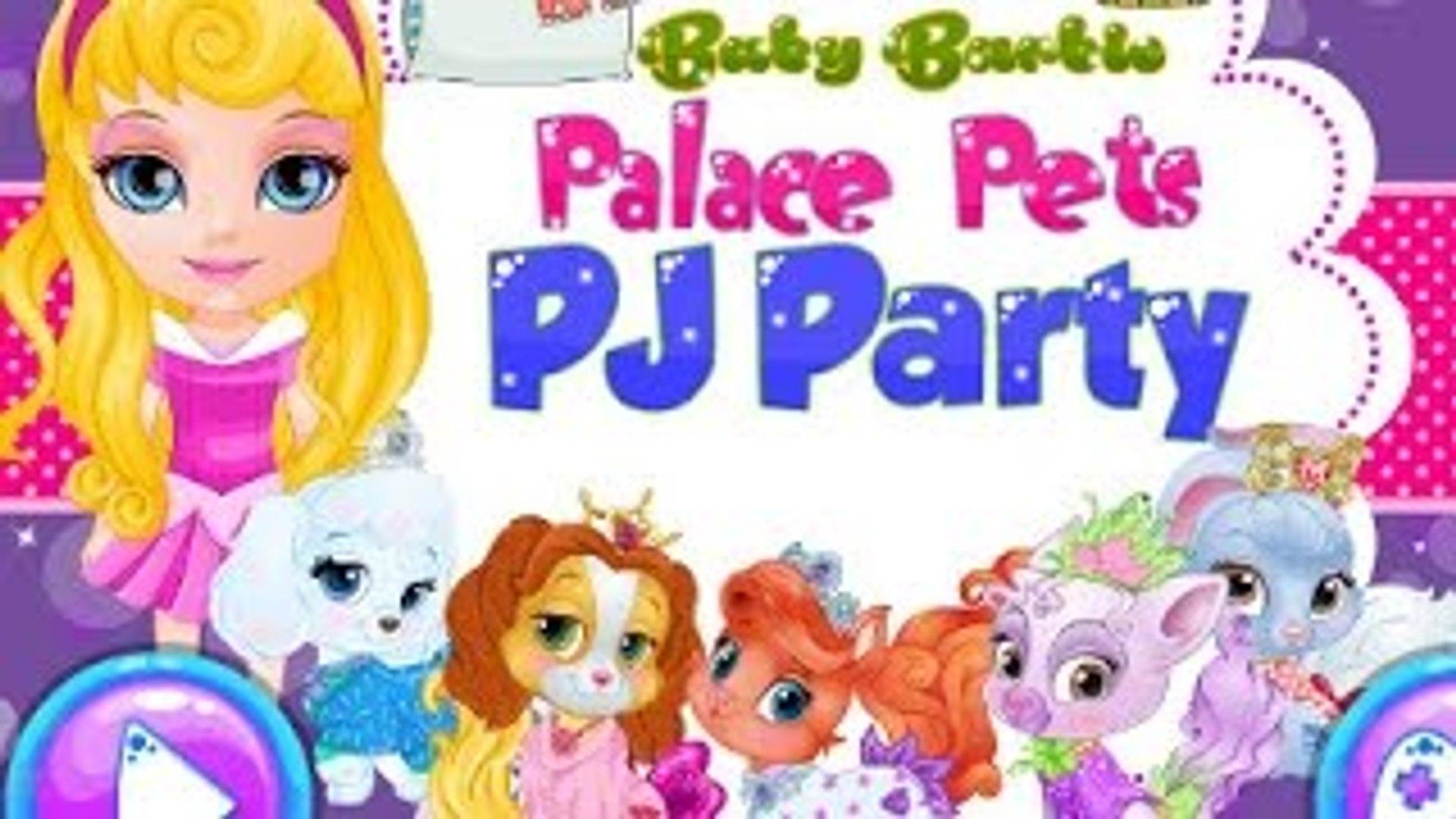 Baby Barbie Game - Baby Barbie Goes To Disneyland - Baby Barbie Palace Pets PJ Party