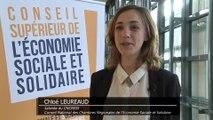Archive - Conseil supérieur de l'économie sociale et solidaire - Interview de Chloé Leureaud