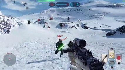 """Star Wars Battlefront : la mort """"Epic Fail"""" qui fait rire tout Internet !"""