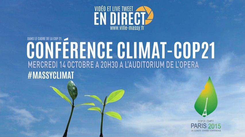 Massy Climat - COP 21 - Conférence