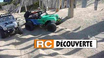 Rc Scale Trial 4x4 Crawler Sable et Rochers plage Mesquer Quimiac 44 Loire Atlantique Grand Ouest