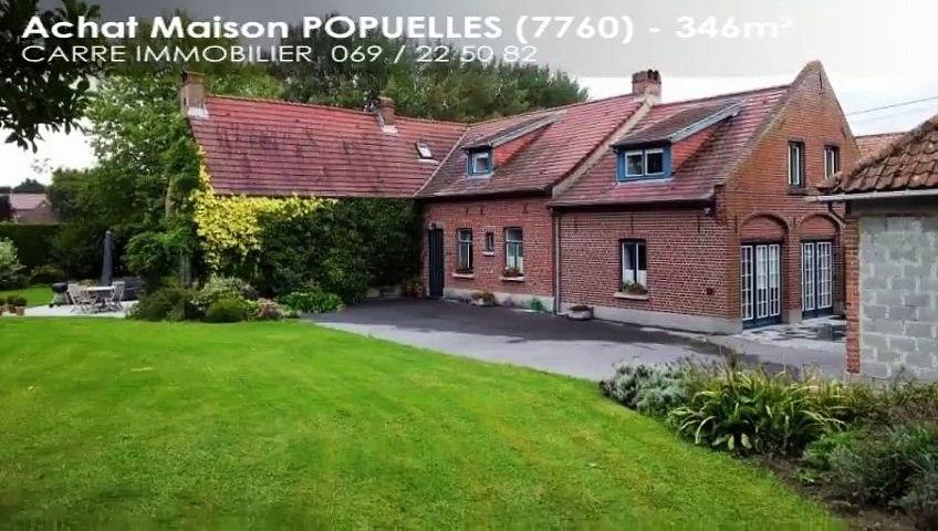 A vendre - Maison - POPUELLES (7760) - 346m²