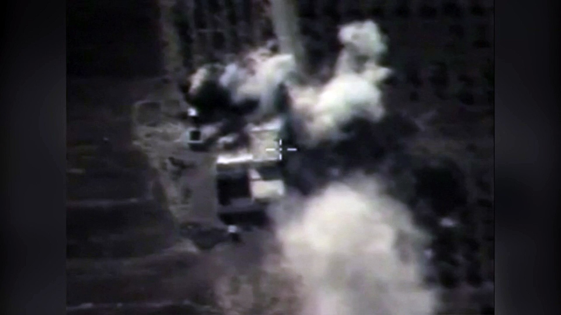 Russia reportedly release Syrian air strike footage