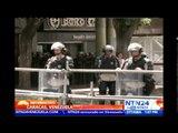 Avanza la audiencia preliminar del opositor Leopoldo López en el Palacio de Justicia de Caracas