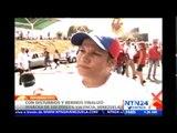 Termina en Venezuela la 'marcha 100 días' con al menos cinco heridos en Valencia