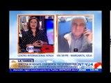 Director de Reporte Confidencial relata en NTN24 cómo fue allanada su casa y oficina en Venezuela