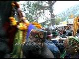Gods of Kullu valleys arrive for Dussehra festival