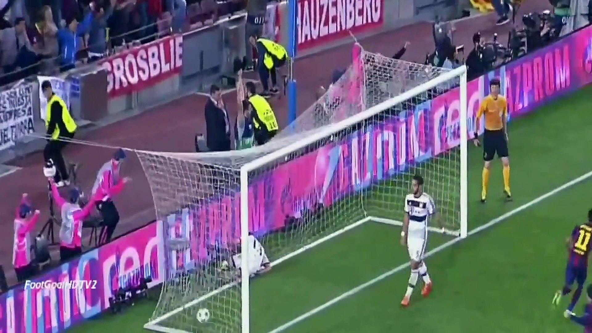 Barcelona vs Bayern Munich Maç Özeti ve Golleri izle 6 Mayıs 2015