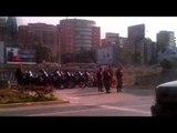 Funcionarios de la GNB custodian lugar donde marcharán estudiantes opositores