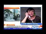 Reportera gráfica italiana relata en NTN24 cómo fue detenida por la GNB durante manifestaciones