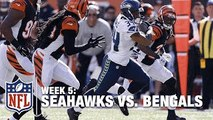 Seahawks RB Thomas Rawls Does His Best Beast Mode Imitation for the TD | Seahawks vs. Beng