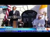 Obama destaca mensaje de misericordia del Papa Francisco durante discurso de bienvenida