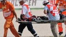 Moto GP - Alex de Angelis injured in serious crash in Japanese Grand Prix