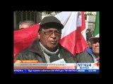 Cientos de manifestantes llegan hasta Palacio de Gobierno en La Paz para exigir hablar con Morales