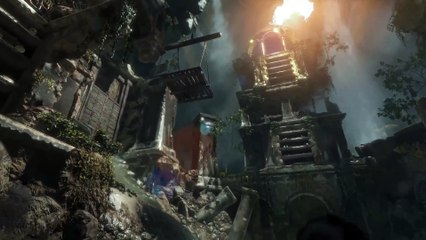 14 Minutes of Rise of the Tomb Raider Gameplay de Rise of the Tomb Raider