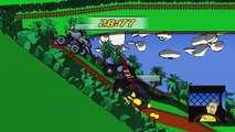 TOY CARS Crashes in Video Games Crazy Taxi FUN! MONSTER TRUCKS