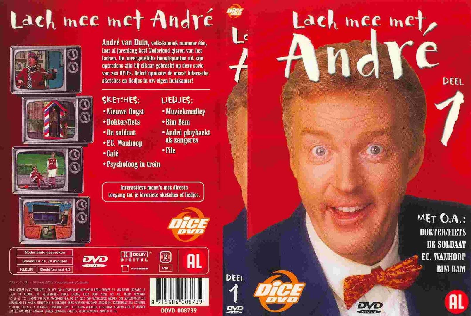 André Van Duin Lach Mee Met André Vol 1