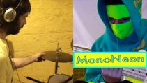 "MonoNeon: Dan Weiss plays drums to Lennie Tristano's ""LINE UP"""