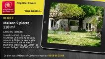 A vendre - Maison - Cahors (46000) - 5 pièces - 110m²