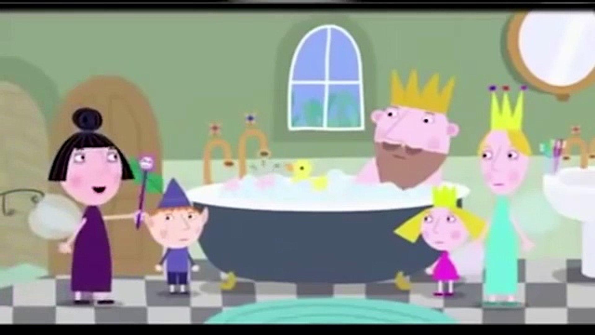 Le Petit Royaume De Ben Et Holly Le Bain Du Roi Dessin Animé En Français Dailymotion Video
