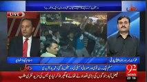 وزیراعظم نواز شریف نے گورنر ہاوس میں بیٹھ کر الیکشن کمپین چلائی۔ اینکر پرسن عادل عباسی