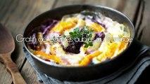 La recette : gratin de légumes oubliés au fromage