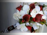 red orchid flower bouquet | beautiful orchid Flower image ideas